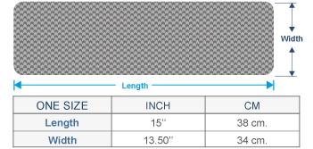 Stella Eco Alpaca Cotton Infinity Cowl Size chart