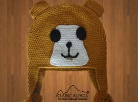 Alpaca Kids - Guinea Girl Hat with Ear Flaps