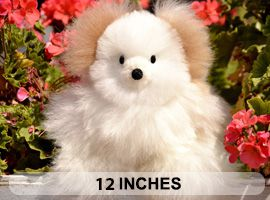 BABY Alpaca Fur-Classic Ornament 12 inches