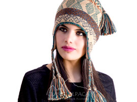 Ayaviri Alpaca Hat with Ear Flaps