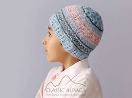 Andean Cable Alpaca Kids-Hat