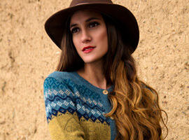 Autumn Alpaca Cardigan