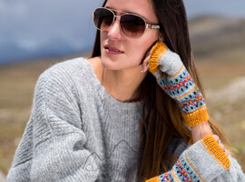Otuzco Baby Alpaca Fingerless Gloves