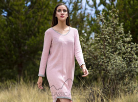 Cotton Baby Alpaca Tunic Dress