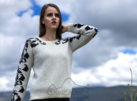 Rozalia Alpaca Sweater