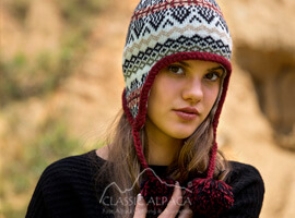 Sun Valley Alpaca Hat with Ear Flaps