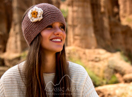 Flower Alpaca Headband