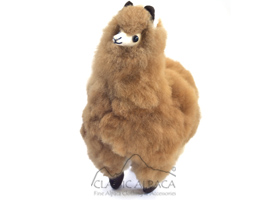 BABY Alpaca Fur-Native Ornament 14 inches
