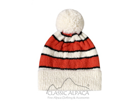 Coral Reef Brushed Alpaca Hat
