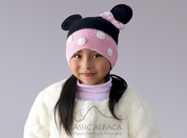 Alpaca Kids-Mouse Girl Hat