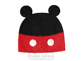 Alpaca Kids-Mouse Boy Hat
