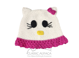Alpaca Kids-Kitty Hat
