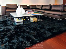 LUXURY Baby Alpaca Fur Rug