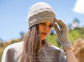 Ginevra Royal Alpaca Hat