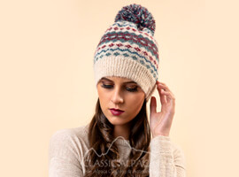 Woodlands Brushed Alpaca Hat