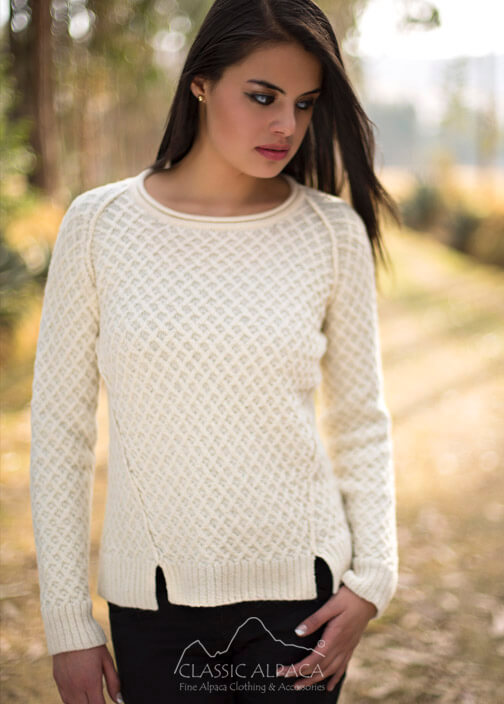 Ivane Alpaca Sweater