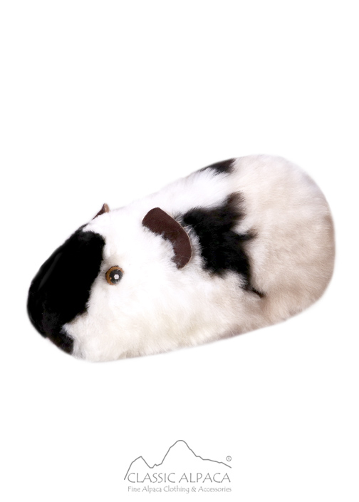 ALPACA Fur - Guinea Pig Ornament 12 inches