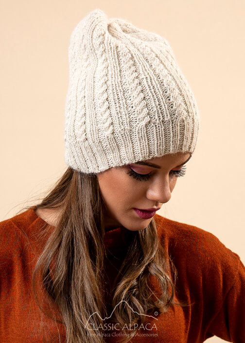 Portree Alpaca Knit Hat