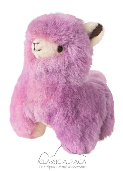 Baby Alpaca Fur- Cartoon Alpaca 11""