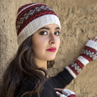 HATS in Winter Color Alpaca Hat