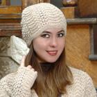 HATS in Scallop Lace Alpaca Hat