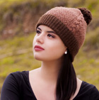 HATS in Gisell Cable Alpaca Hat