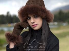 Diamond Cable Alpaca Fur Set