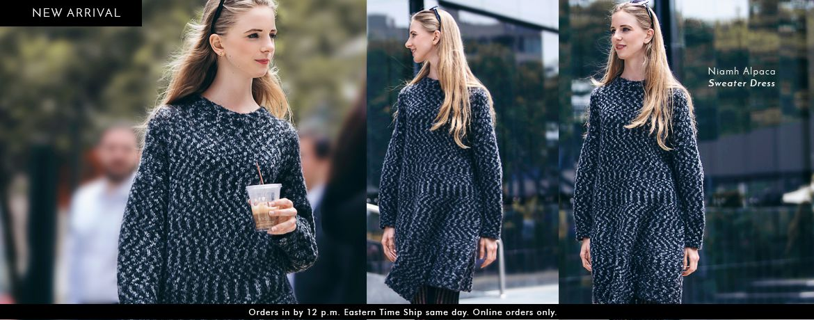Niamh Alpaca Sweater Dress