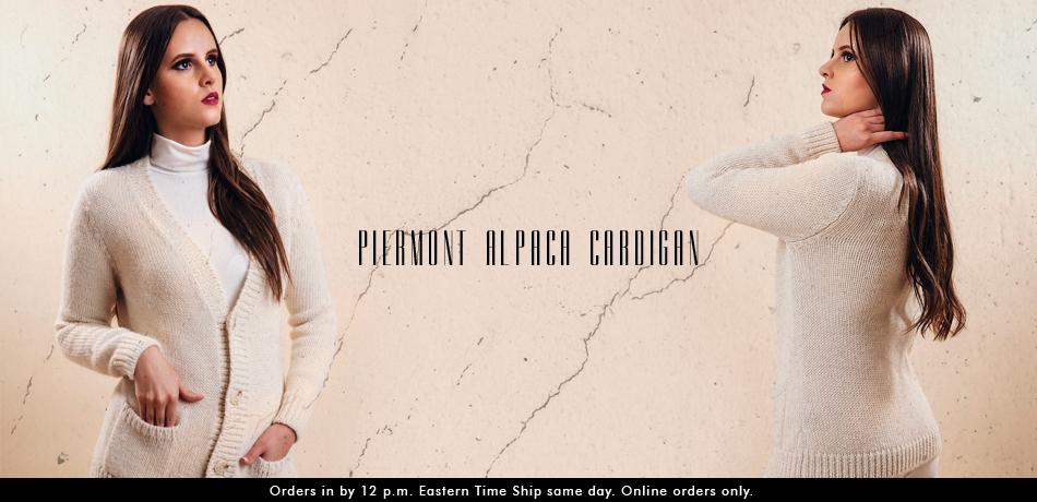 Piermont Alpaca Cardigan