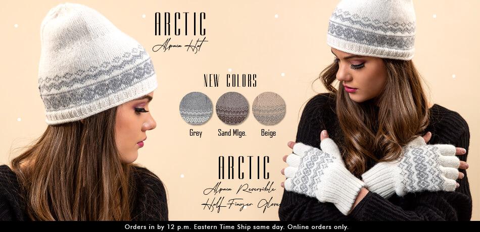 Arctic Alpaca Hat