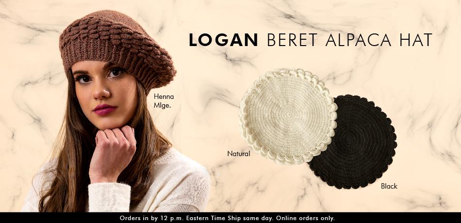 Logan Beret Alpaca Hat