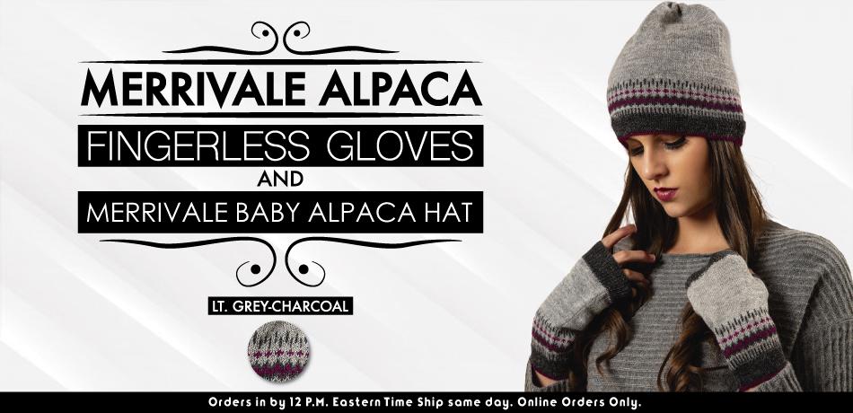 Merrivale Alpaca Fingerless Gloves