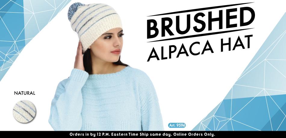 Brushed Alpaca Hat