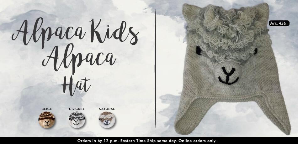 Alpaca Kids Alpaca Hats