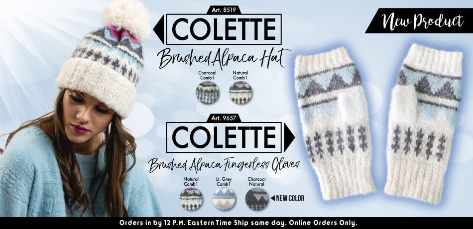 Colette Brushed Alpaca Hat