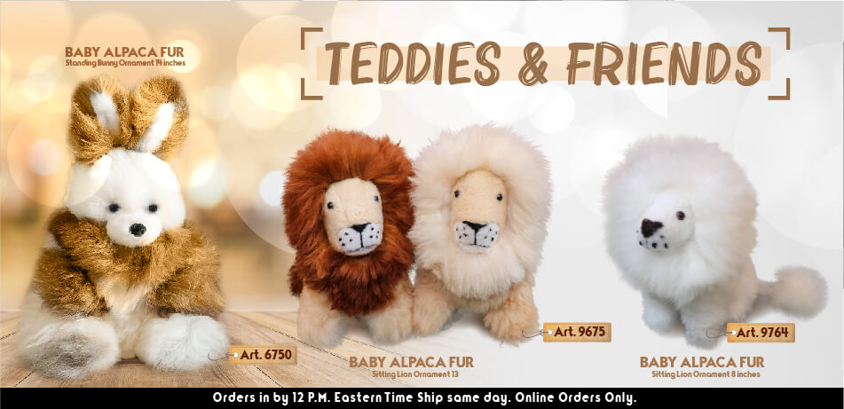 Teddies & Friends | Alpaca Ornaments