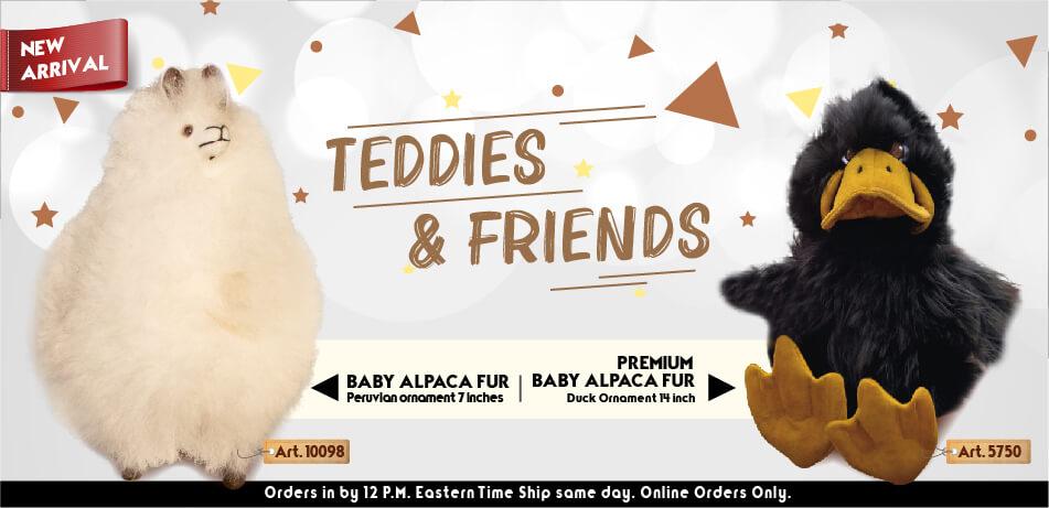 Duck Ornament | Teddies & Friends | Classic Alpaca