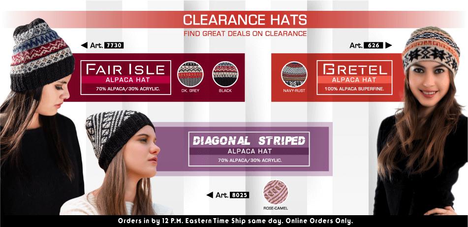 Clearance Hats | Classic Alpaca