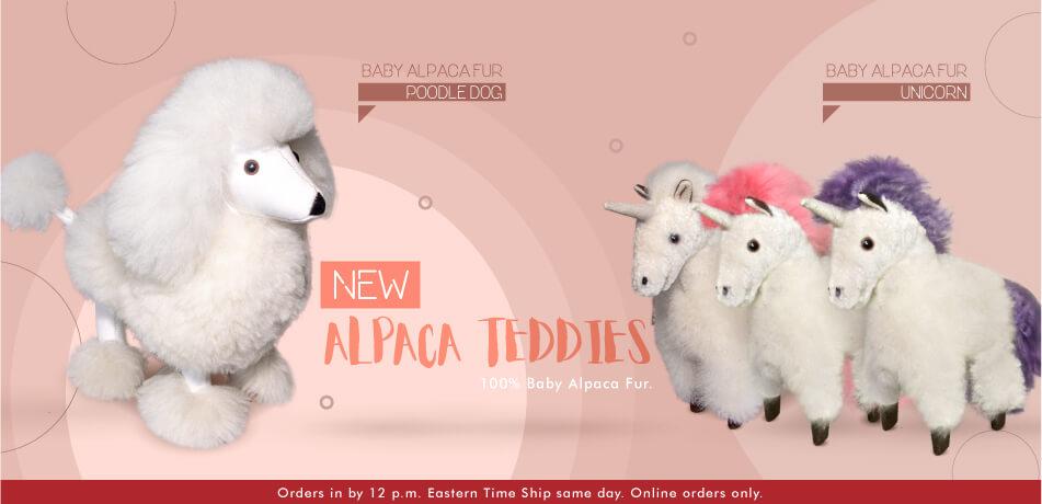 New Alpaca Teddies   Classic Alpaca