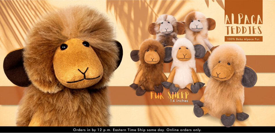 Alpaca Teddies | New Arrivals | Alpaca Fur Toys