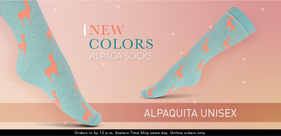 Alpaquita Socks - New Colors