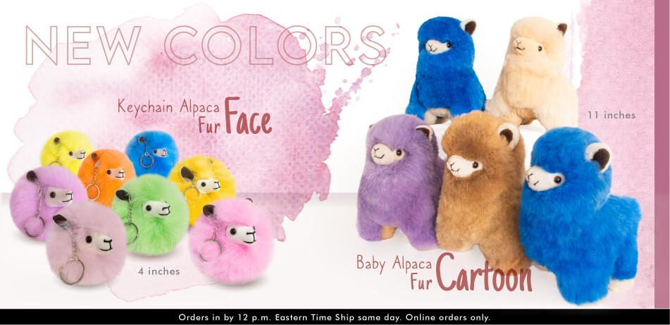 Keychain Alpaca Fur Face | Alpaca Souvenirs