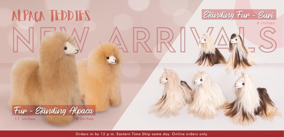 Fur Standing Alpaca | Standing Fur Suri