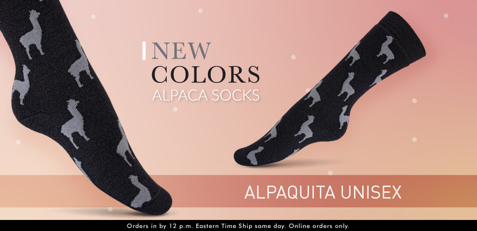 Alpaquita Unisex Socks - New Colors