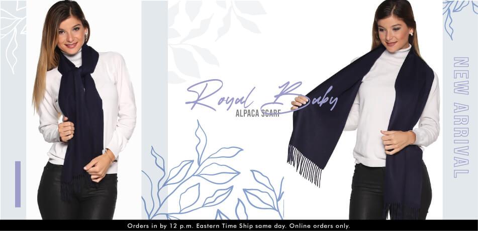 Royal Baby Alpaca Scarf | Alpaca Scarves