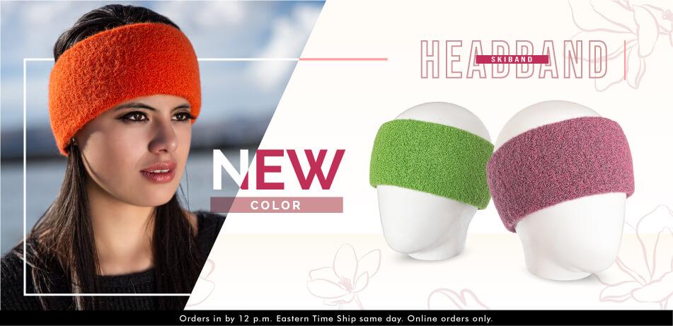 Alpaca Headband Skiband | Alpaca Accessories