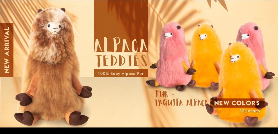 Alpaca Teddies | Fur Paquita Alpaca