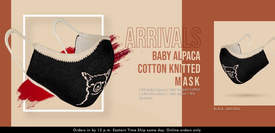 Baby Alpaca Cotton Knitted | New Arrivals