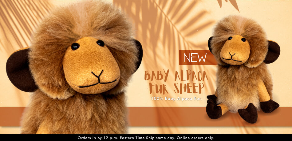 New Baby Alpaca Fur Sheep