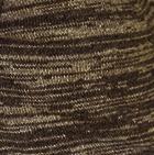 Cinnamon Mlg.-Brown Mlg. Classic Alpaca Men's Cardigan with Leather